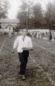 Antonín Truhlář při sportu.